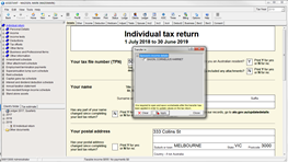 [TAX] Transferring data between tax returns